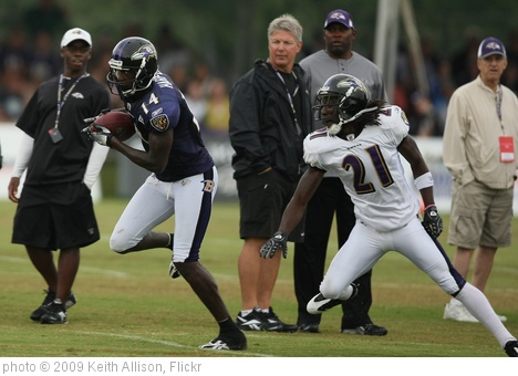 'Justin Harper and Lardarius Webb' photo (c) 2009, Keith Allison - license: http://creativecommons.org/licenses/by-sa/2.0/
