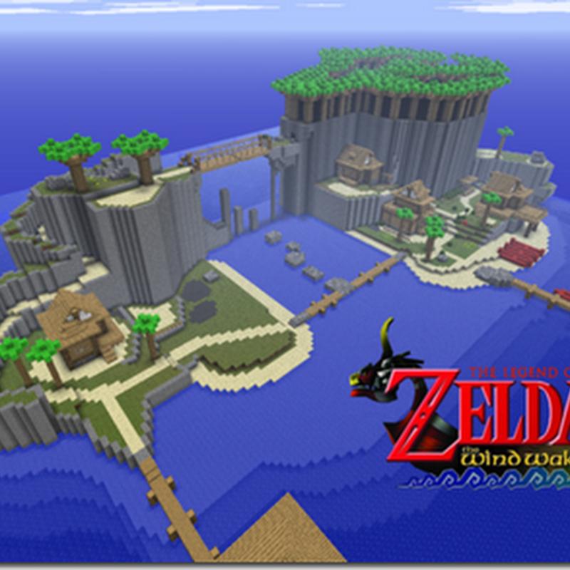 Minecraft : Zelda The Wind Waker Mod