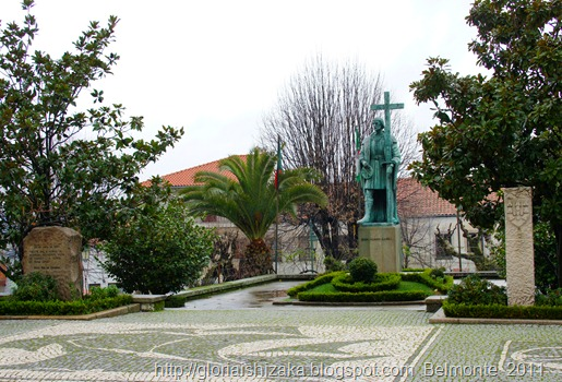Belmonte - largo dr. ant. josé de almeida - estátua de Pedro Álvares Cabral 1