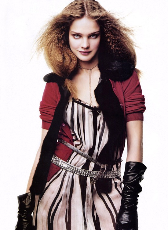 vogue us august 2003 natalia vodianova by craig mcdean best friends for life 3