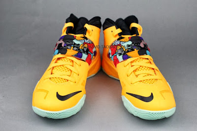 nike zoom soldier 7 gr yellow pop art 4 10 Nike Soldier VII Coconut Groove aka Pop Art available at Eastbay