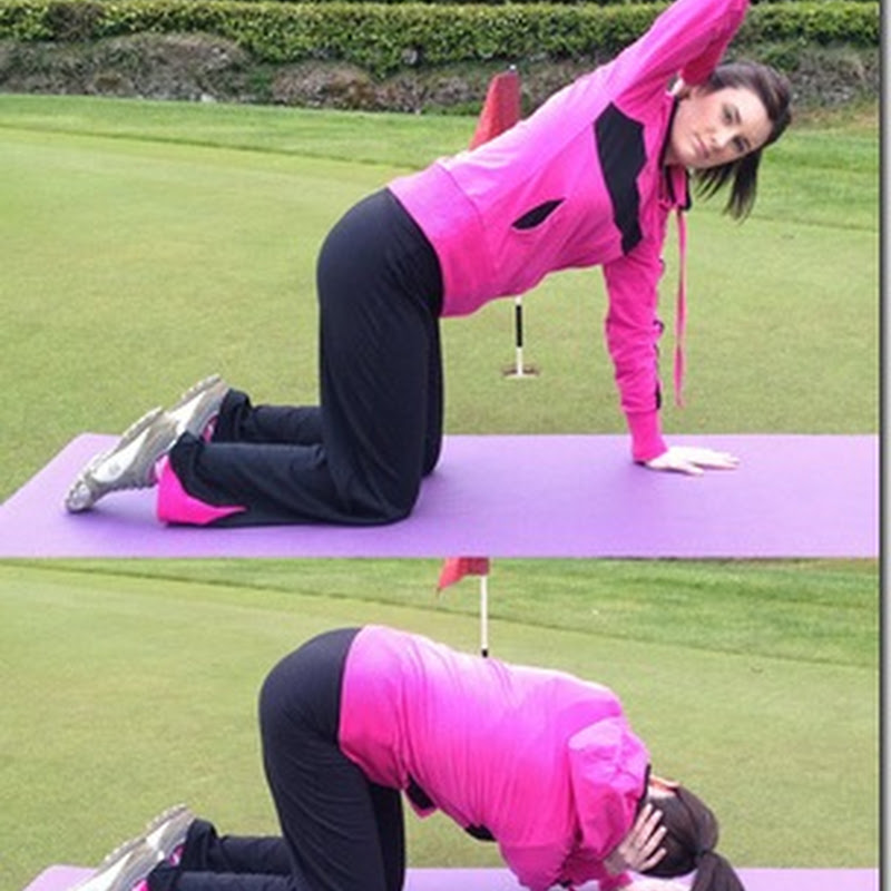 The X Factor Shoulder and Hips- Anne Marie Kennedy Yoga For Golf