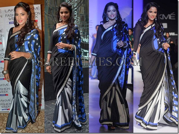 Sameera_Reddy_Archana_Kocchar_Saree