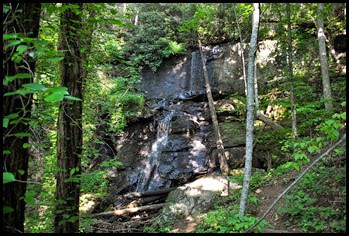 17c - Sunday - DeSoto Falls - the lower falls
