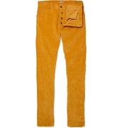 Bottega Veneta Slim Crumpled Corduroy Trousers