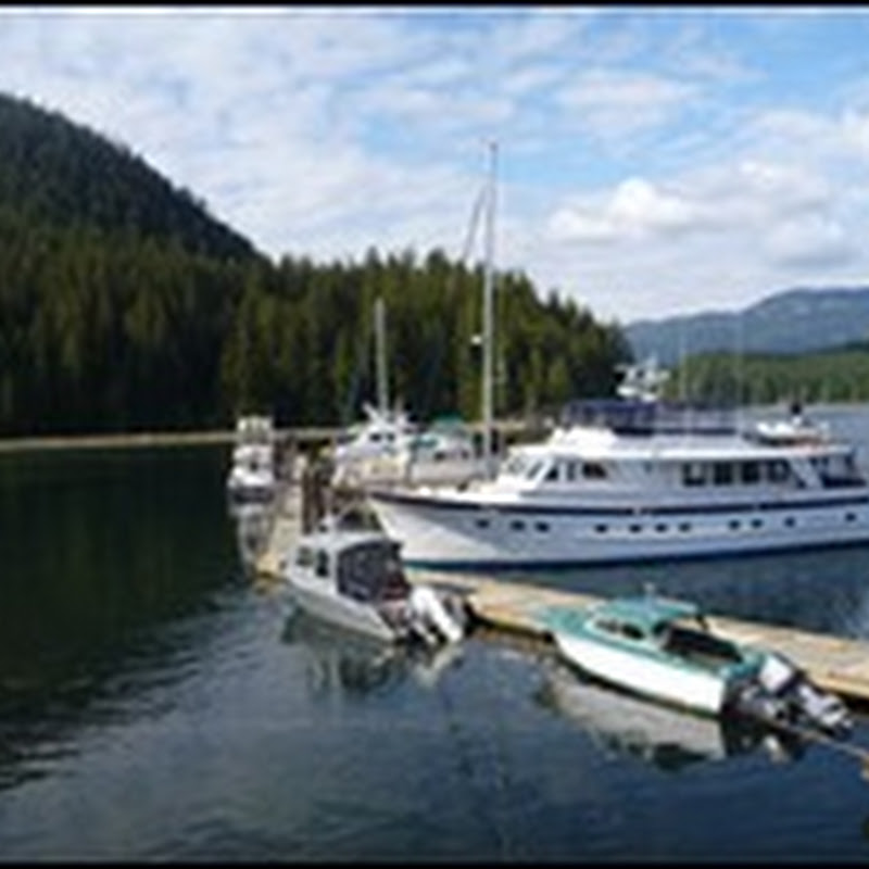 Logbook: Blind Channel Resort, Cormorant Islands Marine Park, Port McNeill, Blunden