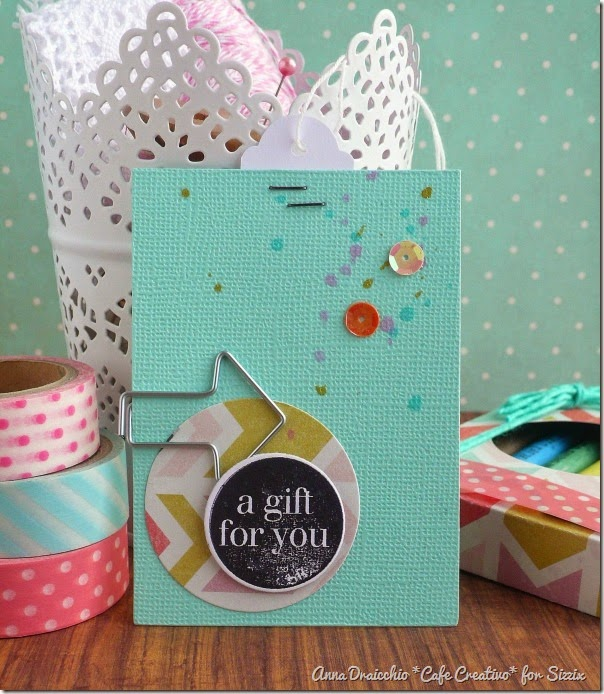 cafe creativo - sizzix big shot - box - gift - scatolina (3)