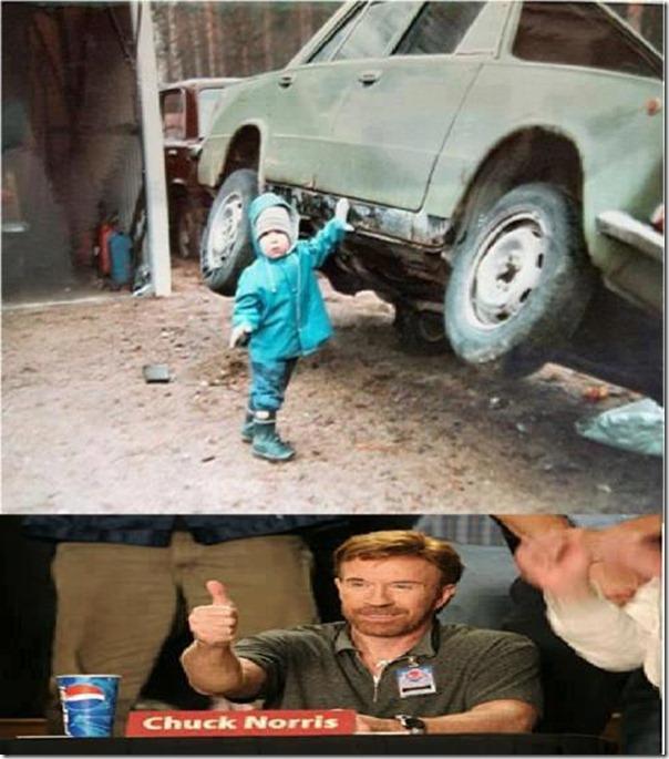 O filho de Chuck Norris