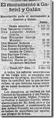 Donantes El Adelanto  Diario poltico de Salamanca Ao XXXVII Nmero 11514 - 1921 diciembre 10