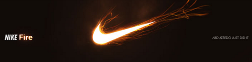 nike fire logo