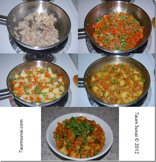 Vegetable stuf process