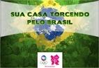 Sua casa torcendo pelo Brasil