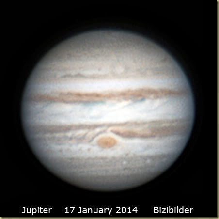 17 January 2014 Jupiter single