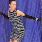 Crochet Black And White Dress