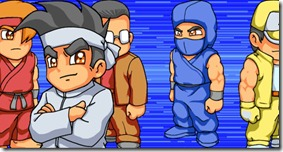 The Ultra Fighters retro indie game (2)