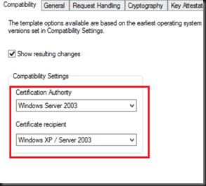 Hyper vsystem center and azure create a certificate template request handling tick allow private key to be exported make sure you tick this as we need to export the certificate and import into other adfs server yadclub Gallery