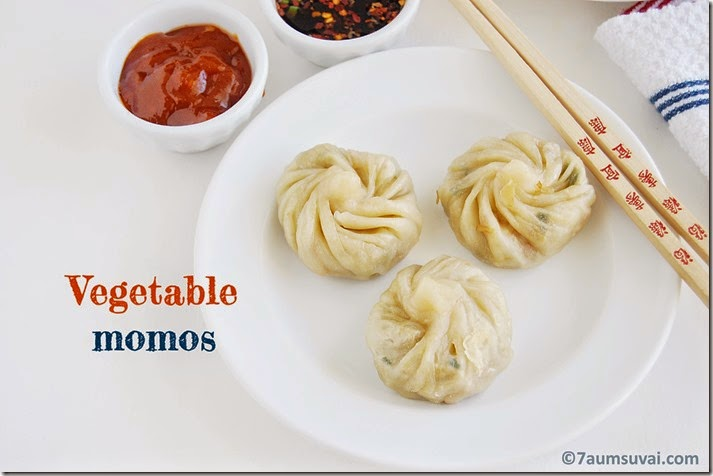 Vegetable momos pic 4