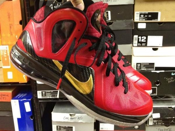 Nike LeBron 9 Elite 8220NBA Finals8221 Custom Colorway By Mache