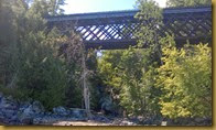 The Wilsboro Trestle on Champlain