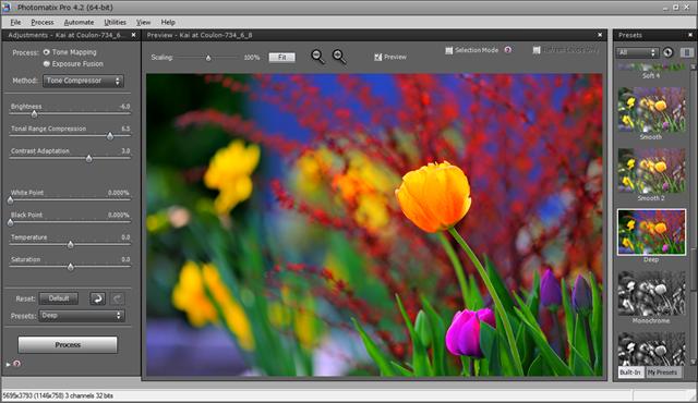 Photomatix Pro 4.2 Deep Preset