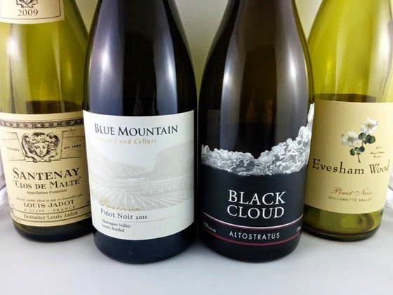 Louis Jadot, Blue Mountain, Black Cloud, and Evesham Wood in the bottom four.