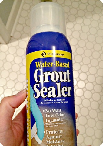 one hour spray grout sealer