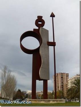 Monumeno a Íñigo Arista - Pamplona
