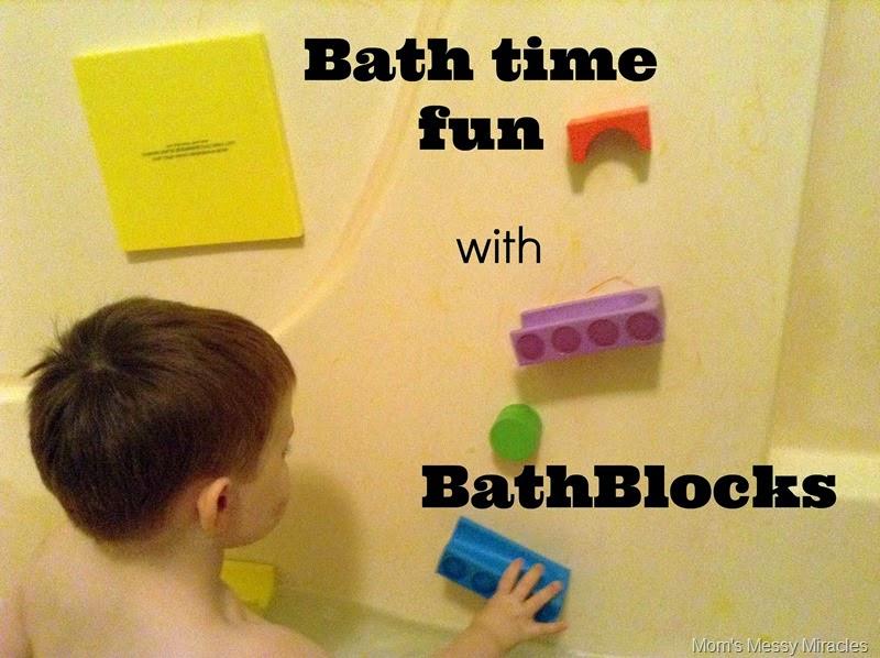 Bath time Fun with BathBlocks