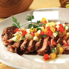 Steak Tagliata With Fresh Vegetable Salsa