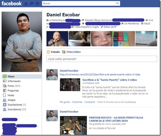 facebook sin timeline