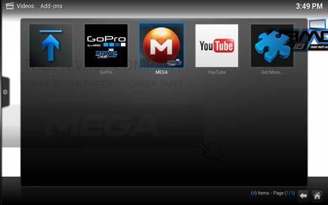 add-on MEGA su XBMC