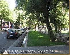 Mendoza, Argentina, una ciudad localizada en un decierto que recupera el agua para garantizar el verdor de sus plantas.
