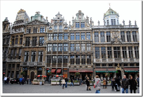 Grand Place Brussels Octo