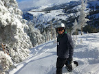 Kirkwood December 18th 2012 (Picture by Marc Merlin). It was a Tuesday, so the resort was empty. Lots of fresh tracks!