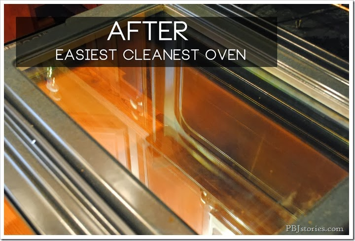 clean oven afterwards on pbjstories