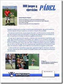 1001 Juegos y Ejercicios de Pádel: nuevo libro en el mercado para todos los aficionados.