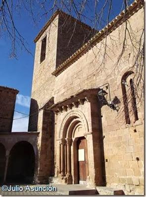 Iglesia de Orísoain
