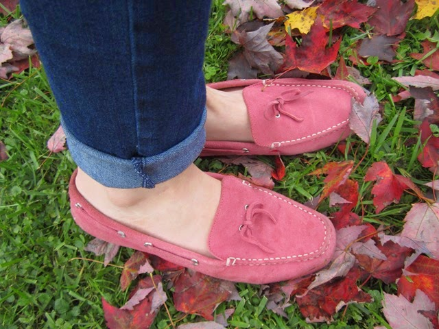 Lands' End moccasins