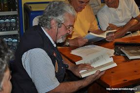 Franco Cibaldi declama una poesia di suo padre.