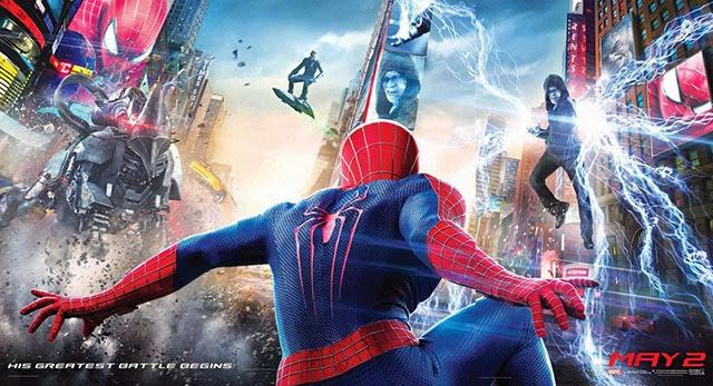 A csodálatos pókember 2 bannerje poszterekre szedve 04