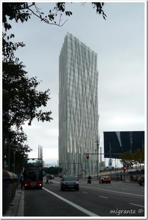 torre diagonal cero - nivel peatón - barcelona