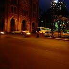 夜のサイゴン大聖堂付近