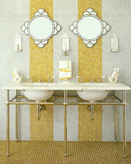 small tile bathroom