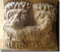 Leones y cabra - San Bartolomé - Aguilar de Codés