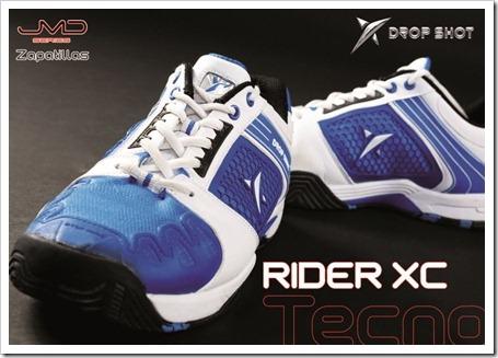 jmd drop shot zapatillas pádel 2012 RIDER XC