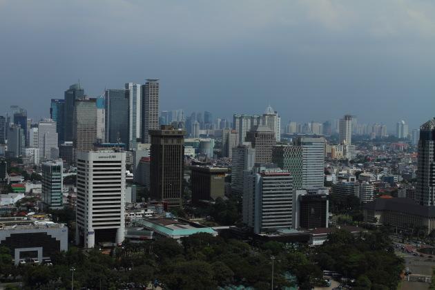 Skyscrapers of Jakarta, Indonesia