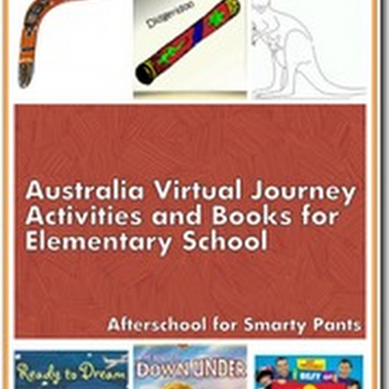 Australia for Elementary School Kids–Books and Activities
