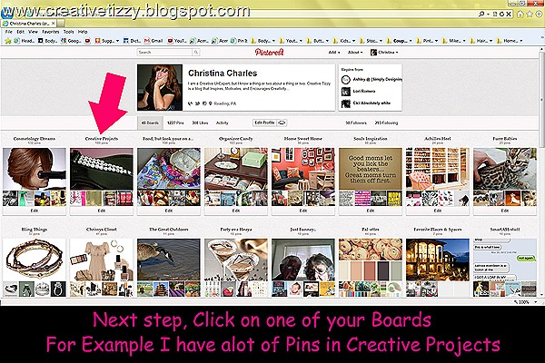 Pinterest Click CreativeProjects