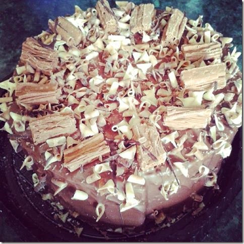 flake cake