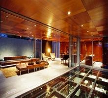 Arquitectura-estructura-casa-suelos-techos-de-vidrio